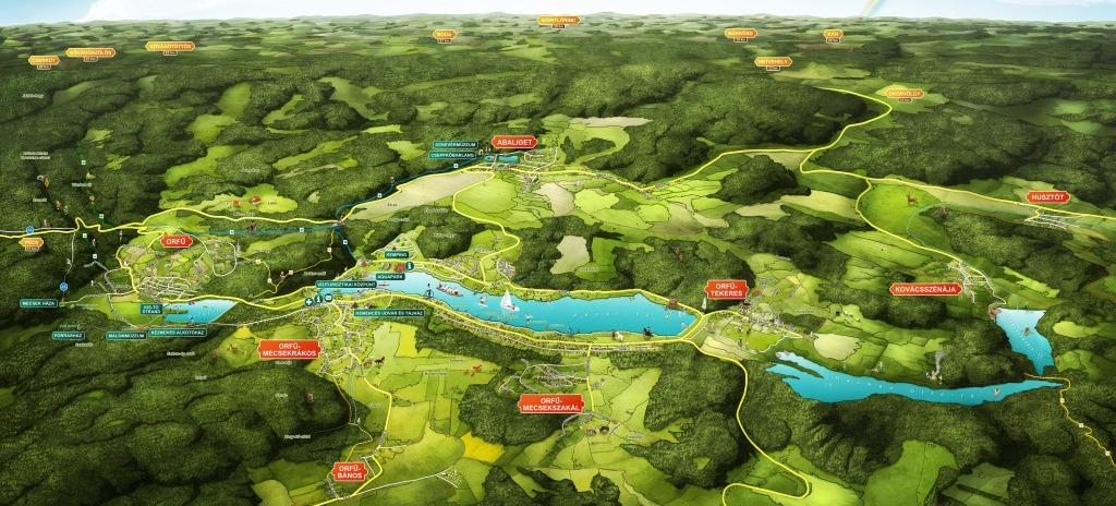 magyarország térkép orfű Orfű szeptemberben is csodálatos   Személyi Utazási Tanácsadó magyarország térkép orfű