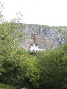 Montenegro Ostrog kolostor